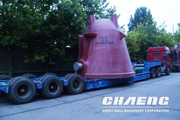 CHAENG slag pots passed acceptance and delivered successfully to the South African branch of Mittal Steel Group