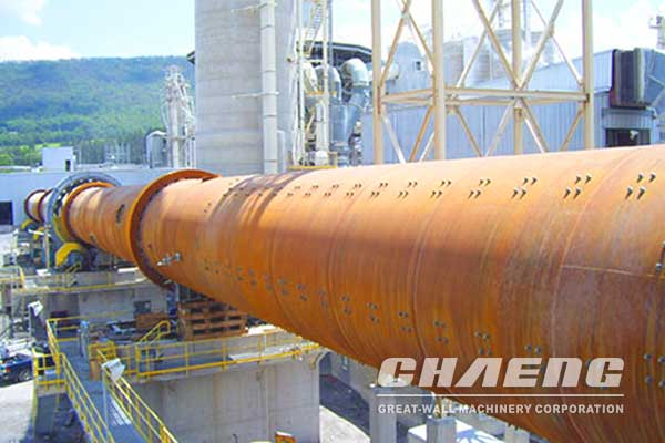 Vertical preheater for Rotary Kiln