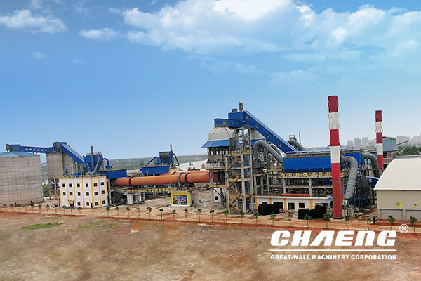 Guangxi Huayan 2x600t/d lime production line