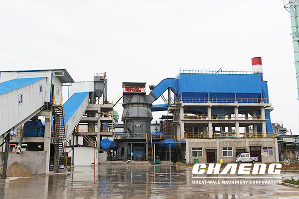 slag powder production line EPC project