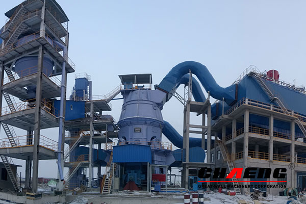Tianshan Cement 5000t/d cement production line