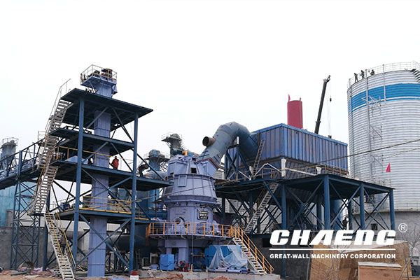 Hebei Tangshan  slag powder production line EPC project